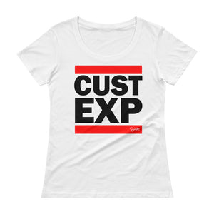 CUST EXP - Ladies' Scoopneck T-Shirt