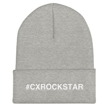 Load image into Gallery viewer, #CXROCKSTAR Cuffed Beanie