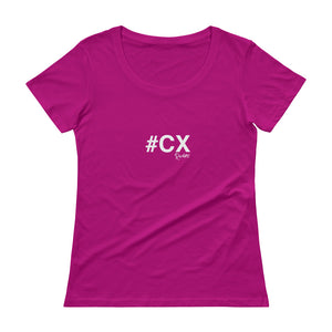#CX Ladies' Scoopneck T-Shirt