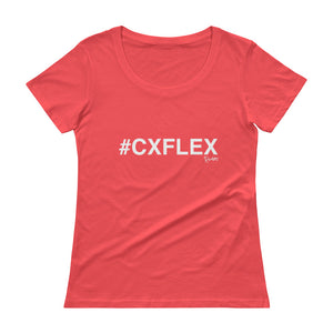 #CXFLEX Ladies' Scoopneck T-Shirt