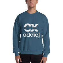 Load image into Gallery viewer, CX Addict White Print Sweatshirt