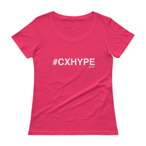 #CXHYPE Ladies' Scoopneck T-Shirt