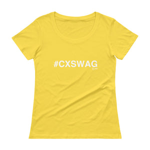 #CXSWAG Ladies' Scoopneck T-Shirt