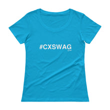 Load image into Gallery viewer, #CXSWAG Ladies' Scoopneck T-Shirt