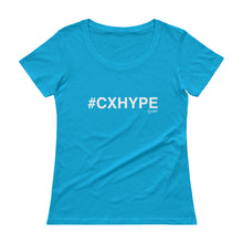 Load image into Gallery viewer, #CXHYPE Ladies' Scoopneck T-Shirt
