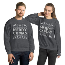 Load image into Gallery viewer, MERRY CX-MAS - Unisex Sweatshirt