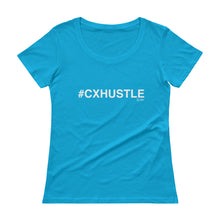 Load image into Gallery viewer, #CXHUSTLE Ladies' Scoopneck T-Shirt