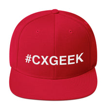 Load image into Gallery viewer, #CXGEEK Snapback Hat