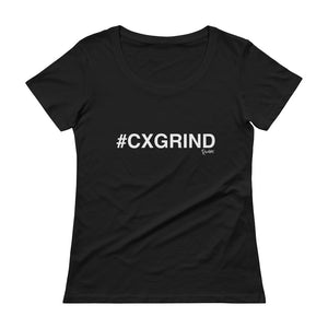 #CXGRIND Ladies' Scoopneck T-Shirt