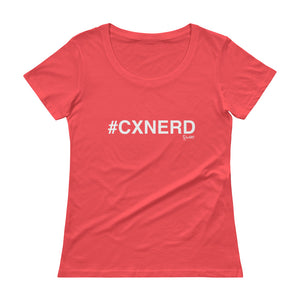#CXNERD Ladies' Scoopneck T-Shirt