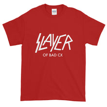 Load image into Gallery viewer, Slayer of Bad CX White Print - Gildan 2000 Ultra Cotton T-Shirt