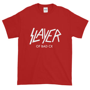 Slayer of Bad CX White Print - Gildan 2000 Ultra Cotton T-Shirt