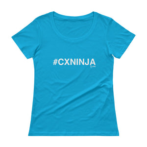 #CXNINJA Ladies' Scoopneck T-Shirt