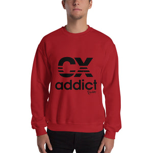 CX Addict Black Print Sweatshirt