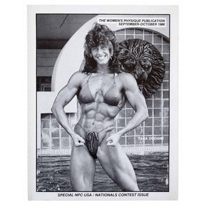 The Women's Physique Publication. September - October 1986. Issue Number 128-129.