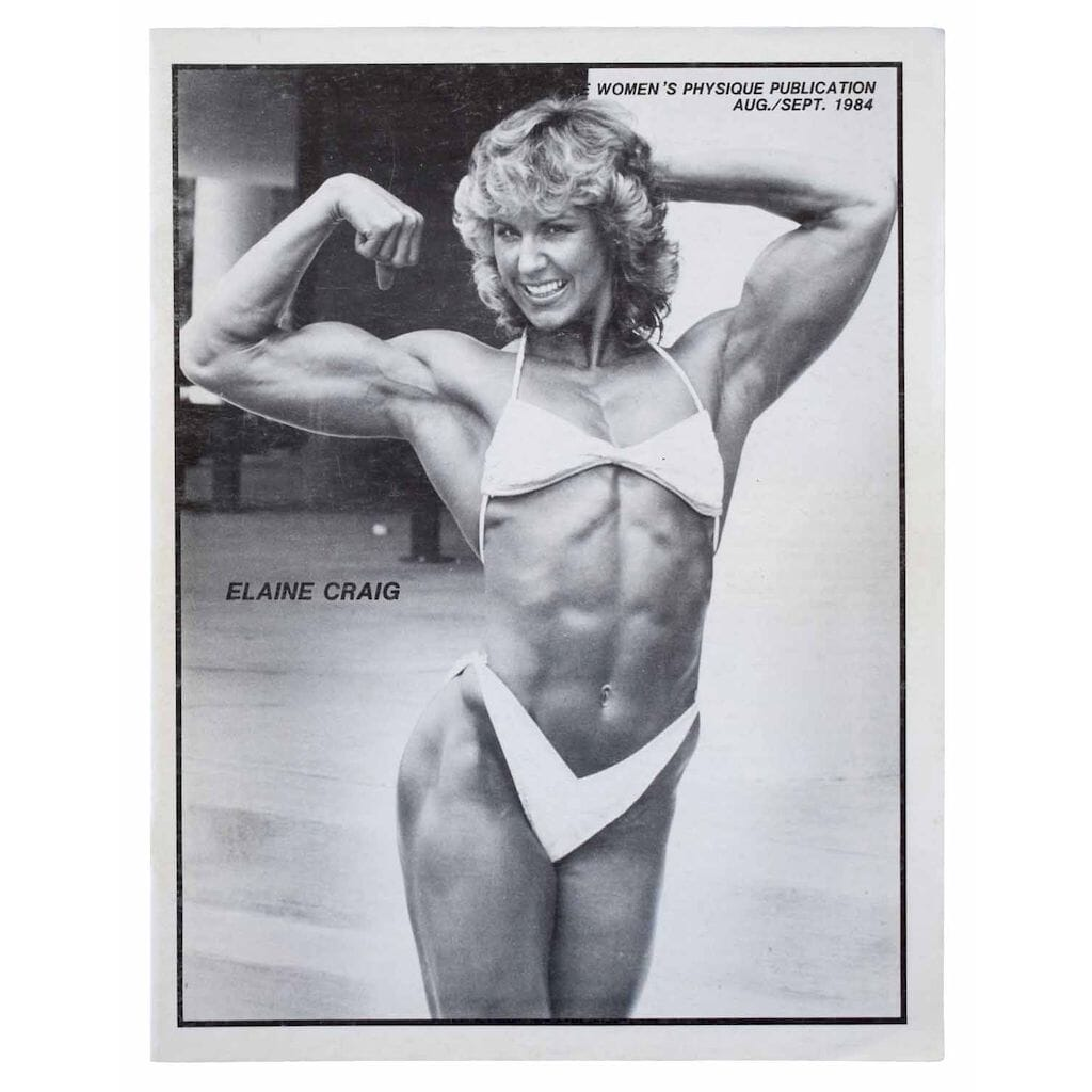 The Women's Physique Publication. August - September 1984. Issue Number 103 - 104.