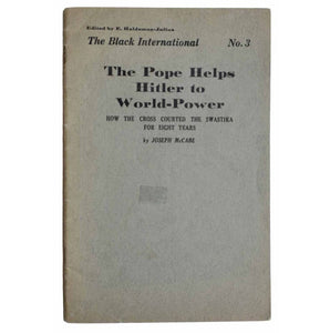 The Pope Helps Hitler to World - Power