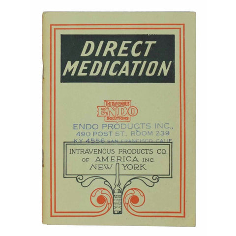 Direct Medication. Endo Intravenous Solutions.