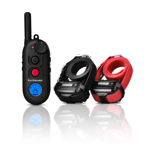 PE-902 Pro Educator 2-Dog Remote Dog Trainer