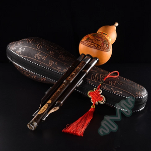 Last day promotion-50% OFF-Cucurbit Flute Ethnic Musical Instrument Key of C/Bb-FREE SHIPING