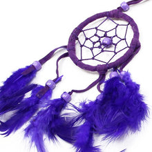 Load image into Gallery viewer, Small Bali Dream Catcher Purple