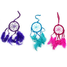 Load image into Gallery viewer, Small Bali Dream Catcher, Pink, Purple, Turquoise