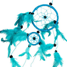 Load image into Gallery viewer, Medium Bali Dream Catcher Turquoise