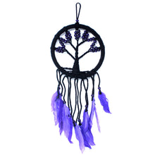Load image into Gallery viewer, Blue Large Tree Of Life Dream Catcher