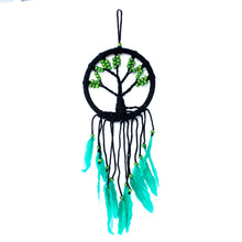 Load image into Gallery viewer, Green Large Tree Of Life Dream Catcher