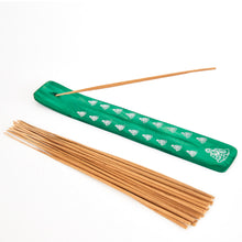 Load image into Gallery viewer, Green Buddha Incense Holder image 1