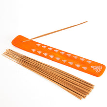 Load image into Gallery viewer, Orange Buddha Incense Holder image 1