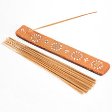 Load image into Gallery viewer, Orange Glitter Coloured Karma Mango Incense Holder image 2