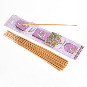 Purple Glitter Coloured Karma Incense Holder image 1