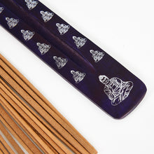 Load image into Gallery viewer, Purple Buddha Incense Holder image 2