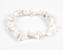 Load image into Gallery viewer, Howlite Stone Bracelet image 1
