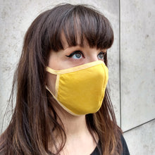 Load image into Gallery viewer, Multicolour Unisex Face Mask, Washable Reusable Breathable Cotton Face Covering