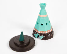 Load image into Gallery viewer, Boho Teepee Incense Cone Holder image 2