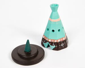 Boho Teepee Incense Cone Holder image 2