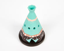 Load image into Gallery viewer, Boho Teepee Incense Cone Holder image 4