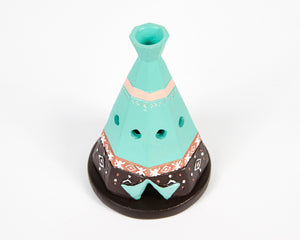 Boho Teepee Incense Cone Holder image 4