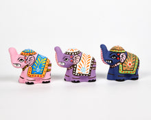 Load image into Gallery viewer, Purple Mini Elephant Incense Holder image 6
