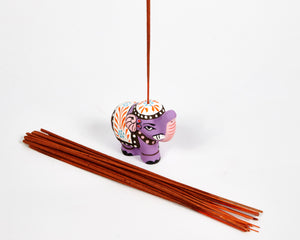 Purple Mini Elephant Incense Holder image 5