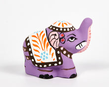 Load image into Gallery viewer, Purple Mini Elephant Incense Holder image 2