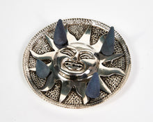 Load image into Gallery viewer, Sun Round Plate Aluminium Incense Holder image 5
