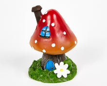 Load image into Gallery viewer, Red Toadstool House Incense Burner image 3
