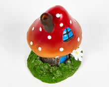 Load image into Gallery viewer, Red Toadstool House Incense Burner image 4