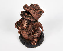 Load image into Gallery viewer, Bronze Dragon Incense Cone Holder image 3