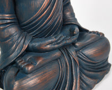 Load image into Gallery viewer, Buddha Statue, Blue Hands In Lap Sitting Buddha, Buddha Ornament, Indian Statue, Indian Art, Buddhist Home decor, home presents, home gifts