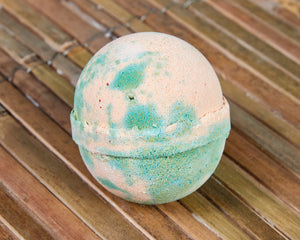 Tropical Mango Skin Kind Shea Butter Large Bath Bomb