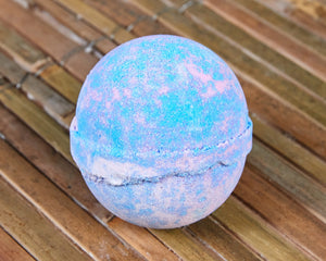 Unicorn Dreams Skin Kind Shea Butter Large Bath Bomb